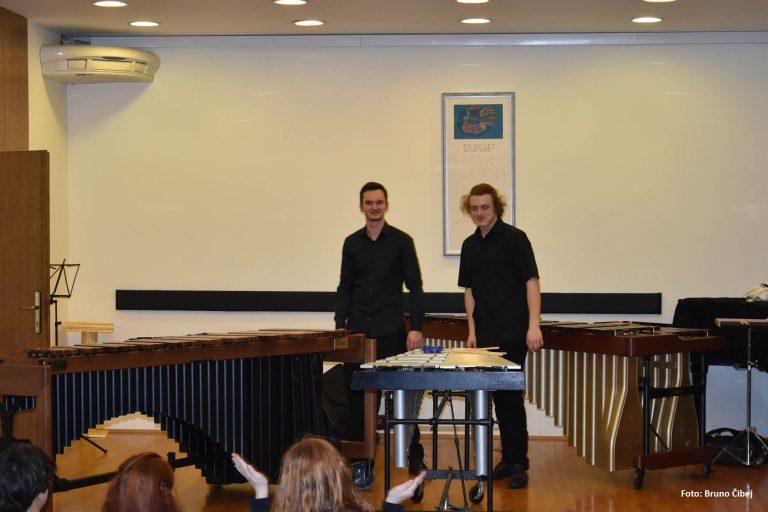 Concert at Music School Kranj, Slovenia