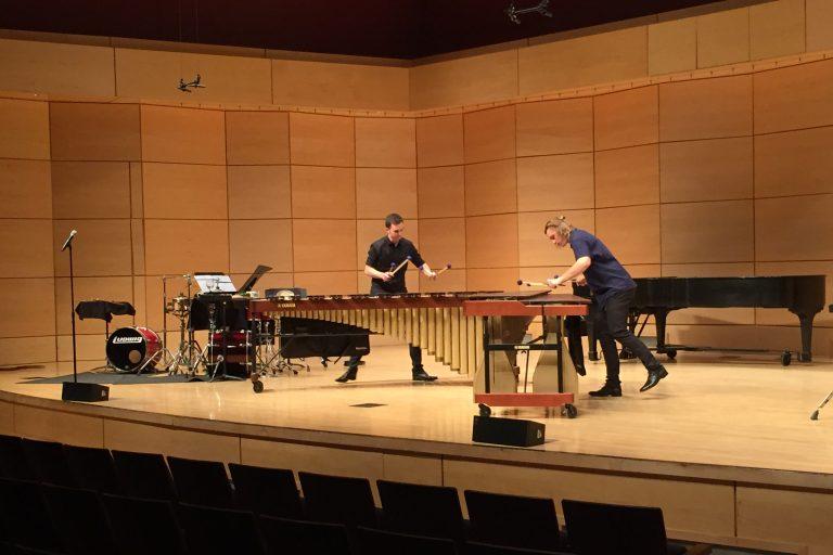 Concert at Radford University, Virginia